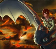 How To Train Your Dragon by Luchianguyen