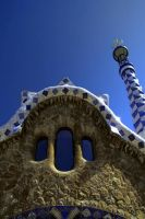 Parc Guell iPhone Wallpaper by hamsterhuey