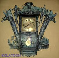 Clock..'INPENANCE' by KARLCLAYDON