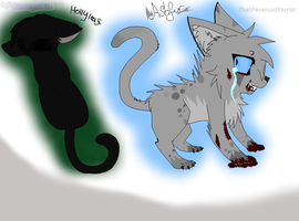 Hollyleaf and Ashfur Collab by ScourgesKit