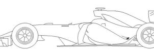 F1 Car 2014 design by Galbatore