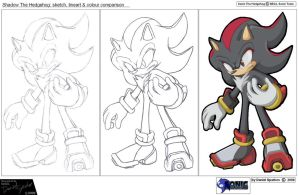 Shadow The Hedgehog by Dan123