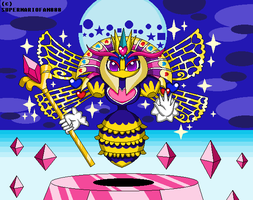 :Kirby: Queen Sectonia by SuperMarioFan888
