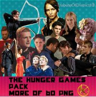 The Hunger Games png Pack by TrubuteOfDistrict13