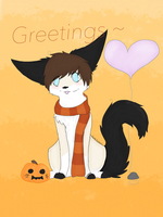 Autumn Greetings by Dudeitsdani