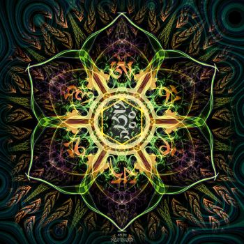 Translucent mandala 1.0 / may 2015 by NeoDruidNeoArt