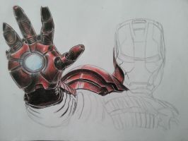 Iron Man Mark V WIP1 by DeadArt1