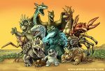 Welcome to Monster Island by DadaHyena