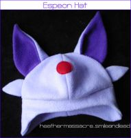 Espeon Hat by SmileAndLead