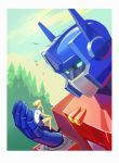 Optimus and Alice by Okha