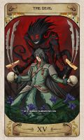 Cerebium Tarot 15 - The Devil by Hedrick-CS
