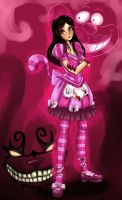 Disney Chesire Cat Alice by AnimeFreak-Denise
