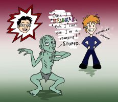 PotterCast 212 Stupid Vampires by blackbirdrose
