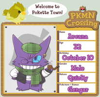 PKMN Crossing App - Arcana by FissionBase