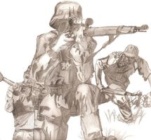 German Soldiers by King-of-Earth