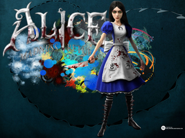 Alice Madness Returns wallpaper by ghostamy101