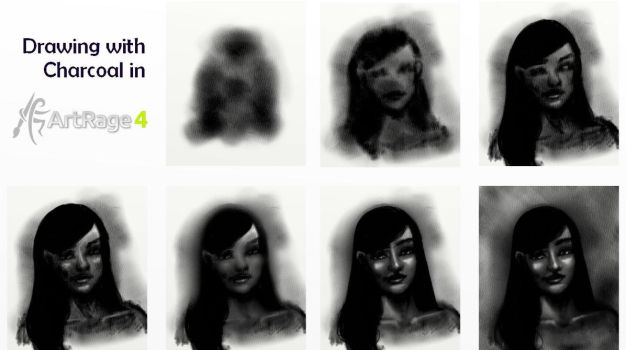 Charcoal ArtRage Tutorial by ArtRageTeam
