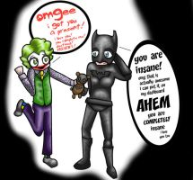 A Present for Batman by greenlikethesky
