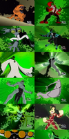 Ben 10 Original Series Transformations by dlee1293847