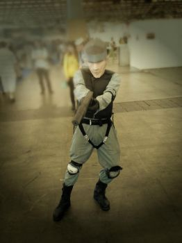 Solid Snake by mat500
