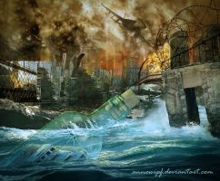 From Charybde to Scylla by annewipf