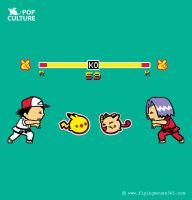 FM Pop Culture 004 - Round 3 Fight! by flyingmouse365