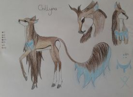 Chittyina|Doe|Raider/Fawn-taker by Shtiya-is-my-power