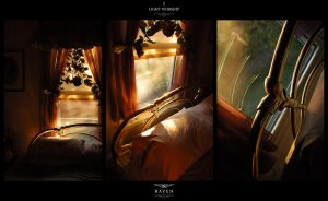Light Worship I - Brass Bed by RavenMacabre