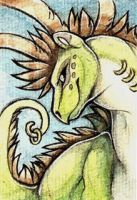 ACEO- Dragon Chameleon by NightFell