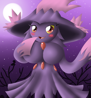 Mismagius Anthro by oldanthropokemon