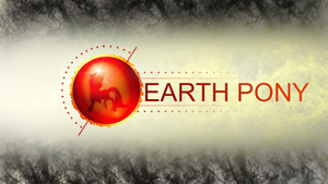Wallpaper : Species - Earth Pony 2/3 by pims1978