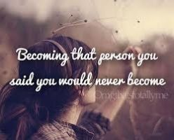 Becoming That Person by Lyric1749
