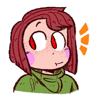 Chara Doodle by ryllcat21
