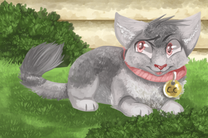 Garden Cat by That-CrazyCat