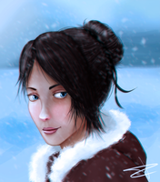 Snowy day (Holiday Card Project) by Dekanh