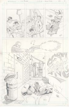 Batman Finite Issue 1 page 1 pencils by rosas-chris