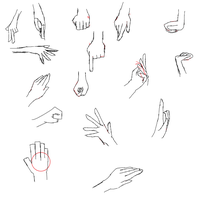 Hand mouse sketches by Cool-Mojo-Sis