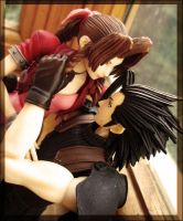Zack and Aerith_01 by semirahge