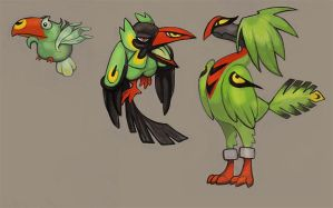 Fakemon: Tucanopy by skulldog
