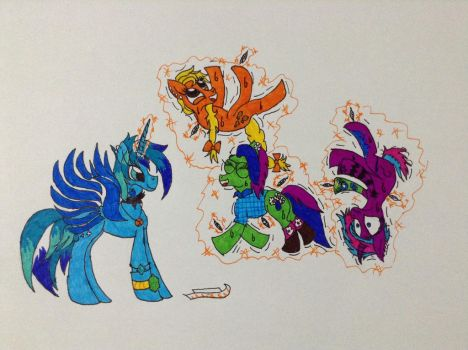 Tickle Party [Request] by Frollo7797