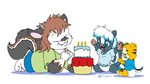 Dominic's Birthday by Tavi-Munk