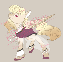 Snooty Pony +Auction+ Open by Dracini