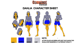 Dahlia Character Sheet by EdGPatterson