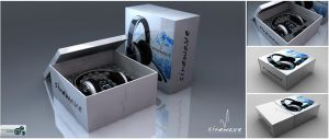 Sinewave headphones packaging by KudakwasheZimunya