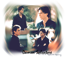 Damon Salvatore by Meybeline