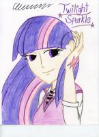 Humanized Twilight Sparkle by The1King