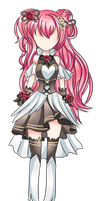 [Outfit Design Commission] Haruka28 by QueenAdorkable