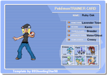 Ruby Trainer Card by The-Insane-Puppeteer