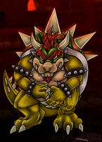 Bowser - Koopa King by MissKanae