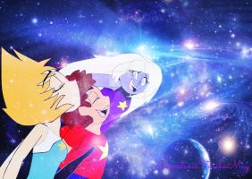 Steven Universe_Feel of Peace in the Universe by LoonataniaTaushaMay